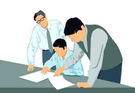 rectification: Presentation to rectification Illustration