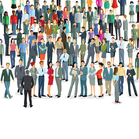 populate: Groups and crowds
