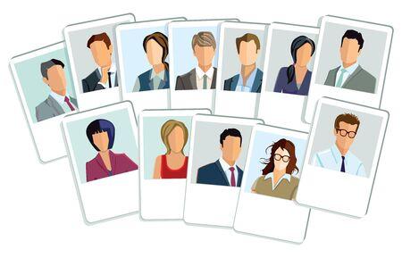 businesswomen: Businessmen and businesswomen application