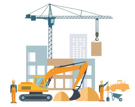 craftsperson: building project, construction site