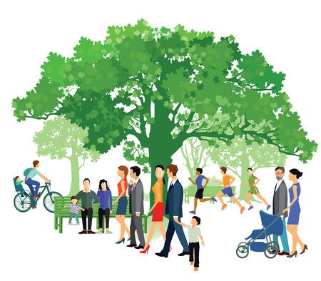 residents: Green Park Illustration