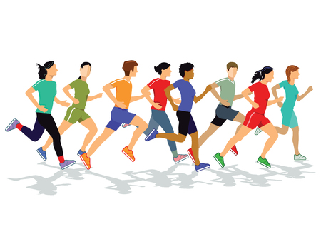 joggers: Joggers and runners