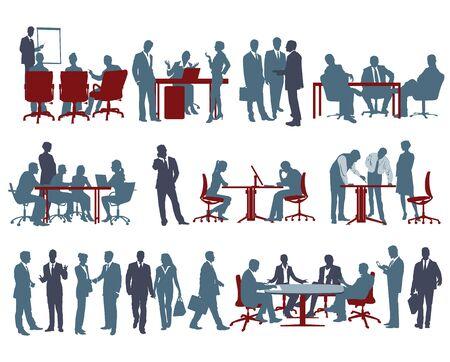 gatherings: Office scenes