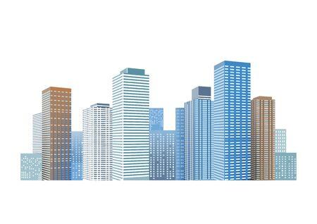 urbane: Cityscape with skyscrapers