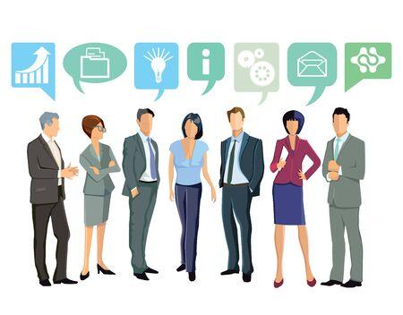 humane: Together, Business Ideas Illustration