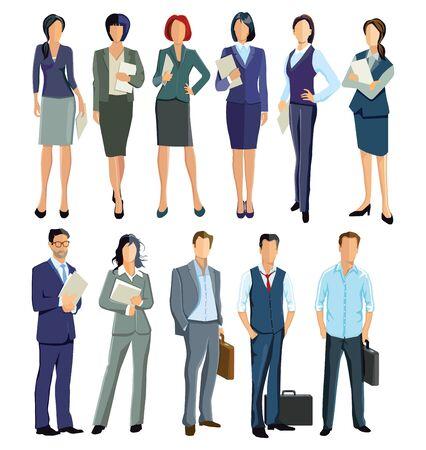 Once empleados y empresarios
