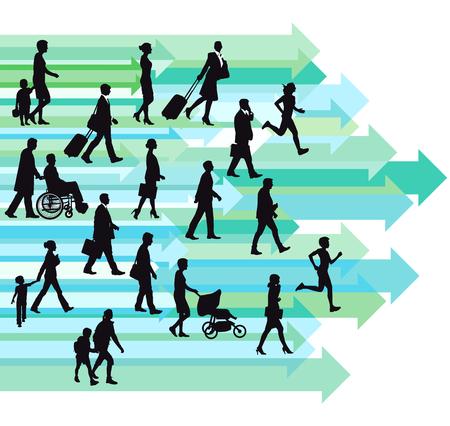 graphically: toward progress Illustration