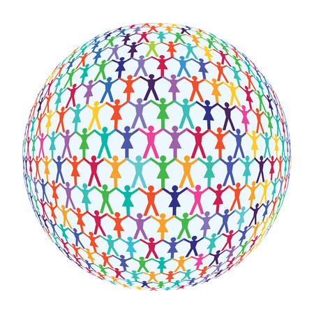 enlightment: international population Illustration