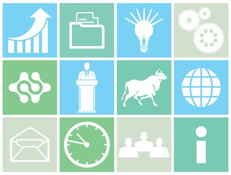 sociable: Business concept icon