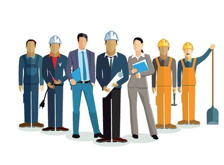 construction project: Architect team, construction project