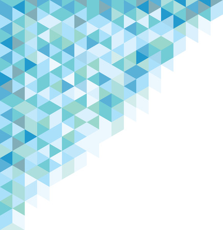 azul: Abstract symbol azul