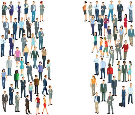 diversidad: dos grupos