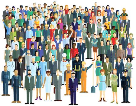 hustle: Large Crowd