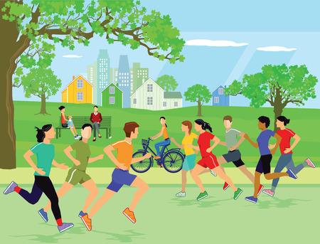 sport de jogging