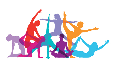 fitness woman: Gymnastics and Fitness