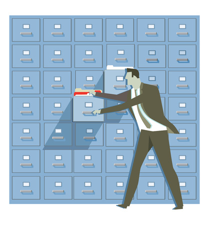 archiving: Concept for data protection and security
