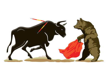 Bear to the Bull at the Bullfighting