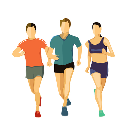 quickness: three runners