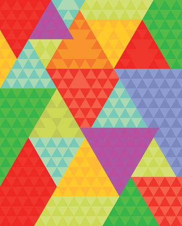 texture fantasy: Colorful Triangle Background Illustration