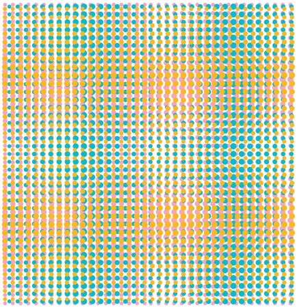 coloured background: randome sizes dots seamless pattern
