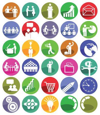 sociable: Business Management Icon Set
