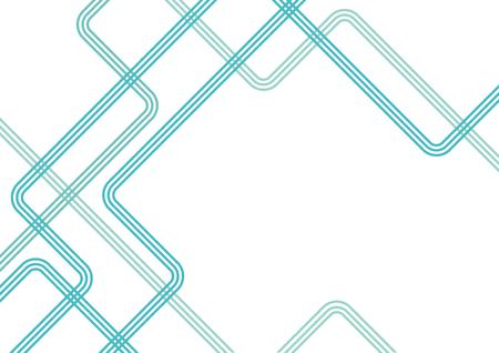 Directional lines concept, background illustration Ilustração