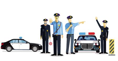 Police check, police use