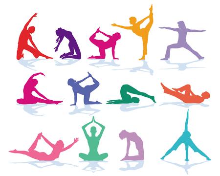 Gymnastics and Yoga, Sport Training, Set