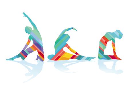 Gymnastics and stretching, sports training