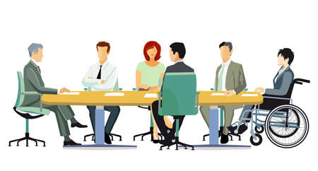 Meeting and advice, meeting in the team