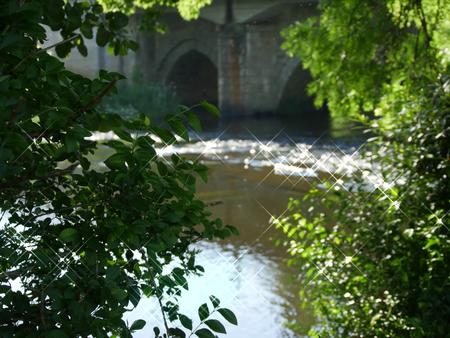 Bridge on the river Tambre, located in the municipality of Oroso A CoruÃ?a, very close to Santiago de Compostela