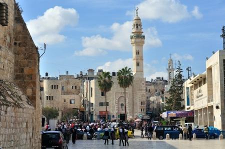 prayer tower: Moschea di Omar a Betlemme, in Palestina