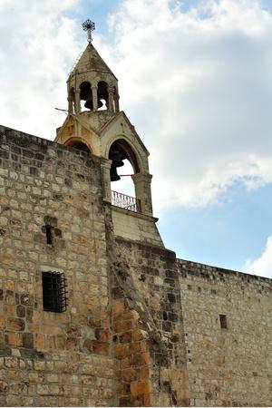 Tower of the Nativity church, Bethlehem, Palestine, Israel photo