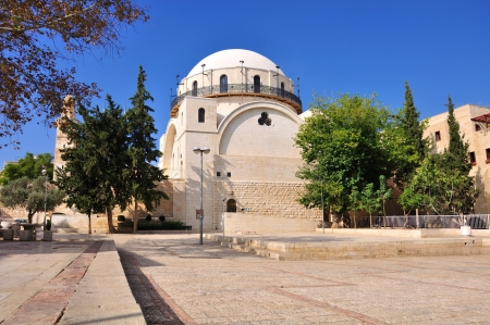 hurva: Restored Synagogue in Jerusalem. Israel