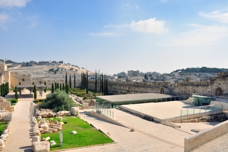 A Photo of Old City and Temple Mount in Jerusalem photo