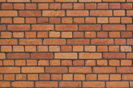 The facade view of the old brick wall for design background. Stock Photo - 10906042