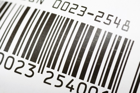 close up of bar code with macro lens  Stock Photo - 11157588
