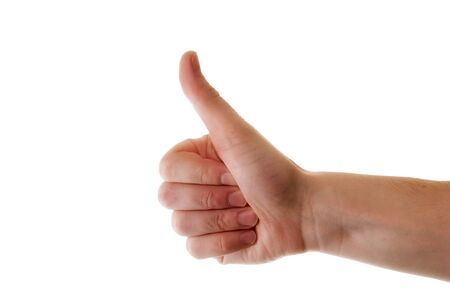 hand with thumb up Stock Photo - 12010874