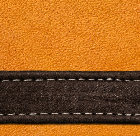 bumpy: A brown and black leather texture  high resolution