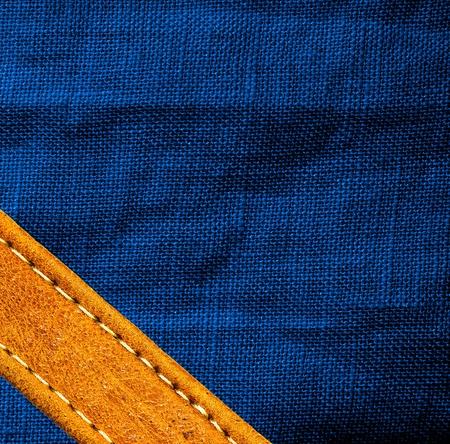 textile industry: Imagen de cuero y textil de fondo