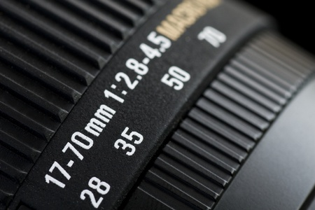 Focusing ring and lens barrel of camera Stock Photo - 12885481
