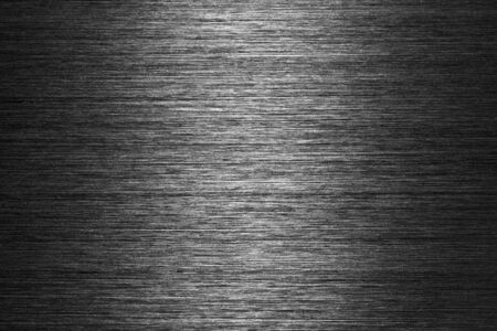 brushed metal background: black gray brushed metal texture in background