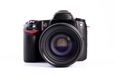 A modern generic digital SLR camera photo