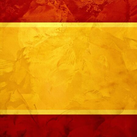 red grunge: Yellow golden and red textured  golden design background Stock Photo