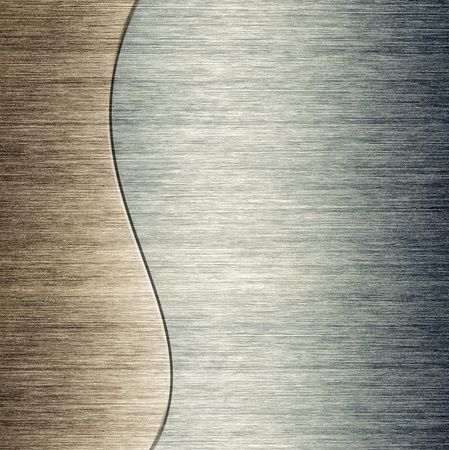pattern of Brushed metal background  metal plate template photo