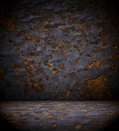 Grunge rusty metal texture  Corrosion of a metal sheet  Stock Photo - 13158554