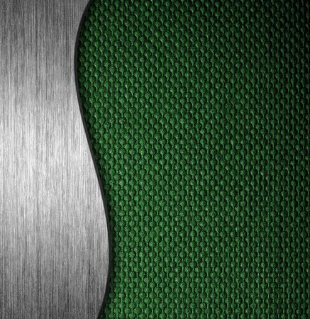 Texture metal and fabric material template background Stock Photo - 13247218