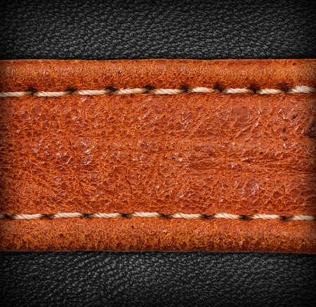 leather texture: A brown and black leather texture  high resolution