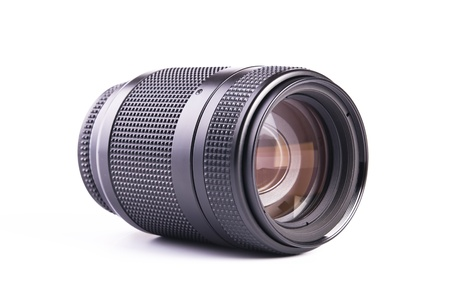 A camera Lens  Shot in studio photo