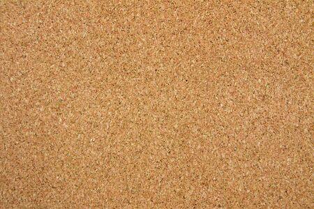 Brown cork board background texture  Shot in studio  photo